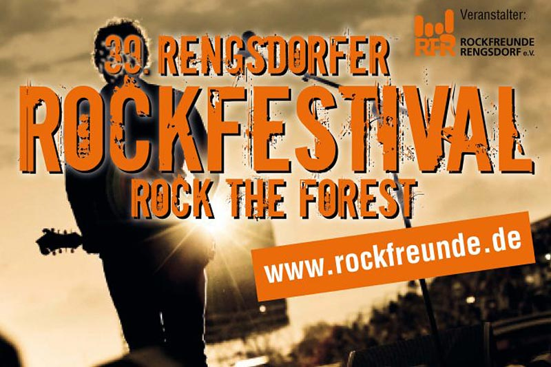 Rock the Forest, Plakat
