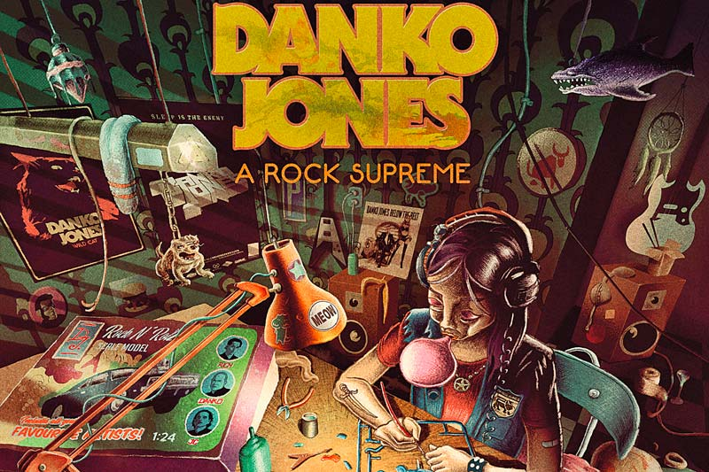 Danko Jones- A Rock Supreme, Cover
