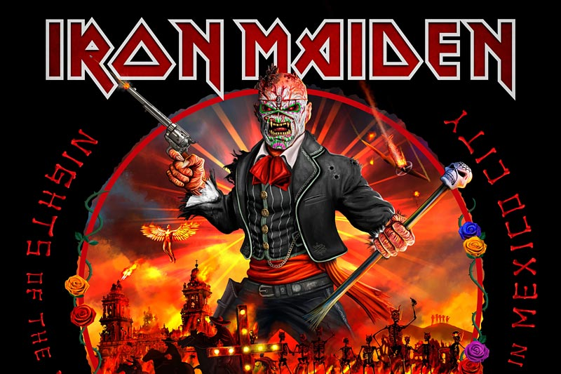 Iron Maiden - Nights of the Dead, Cover