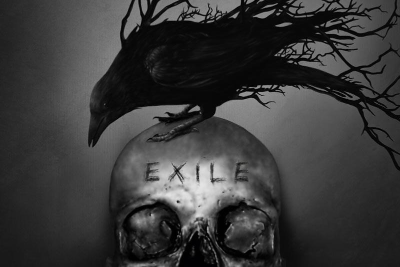 The Raven Age - Cover von Exile